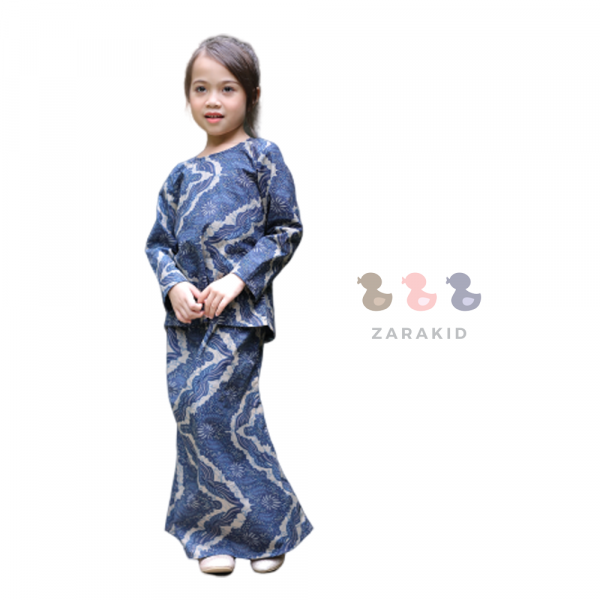 mini_kurung_kids_navy_Blue1